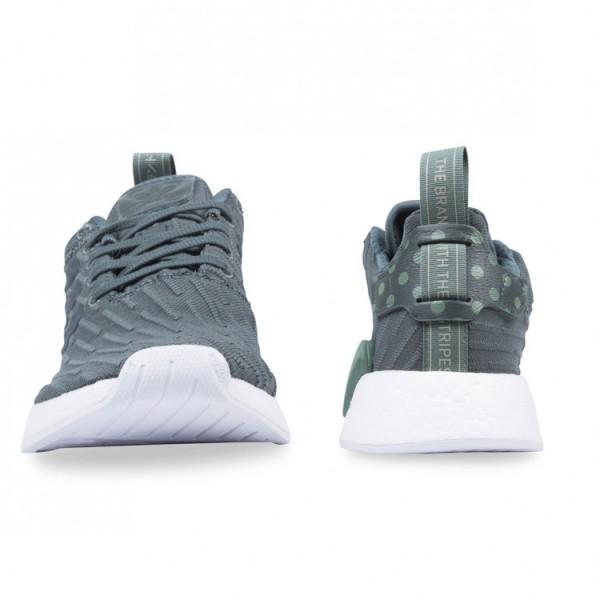 Adidas Women Originals NMD R2 Green Shoes BA7261