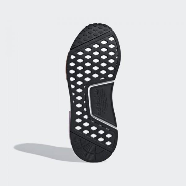 Adidas Women Originals NMD R1 Shoes Grey Pink B37647