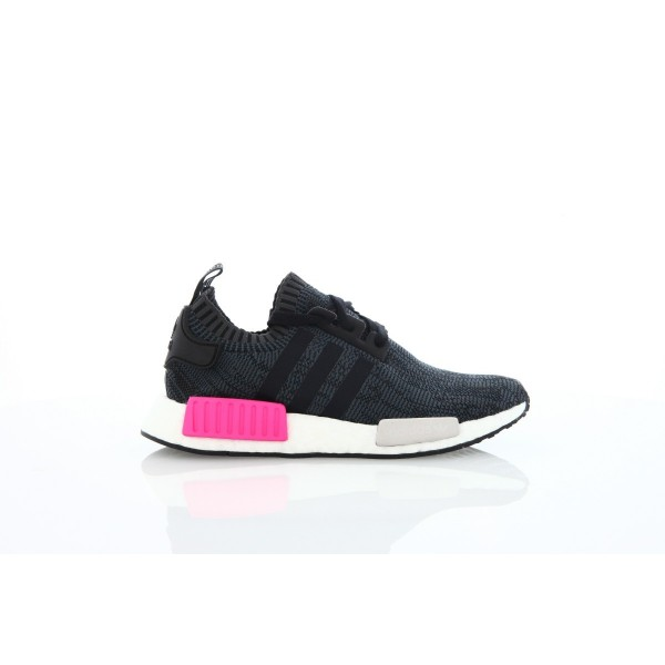 Adidas Women Originals NMD R1 Primeknit Black Pink...
