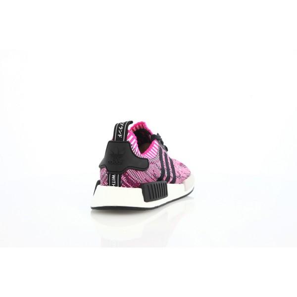 Adidas Women Originals NMD R1 PK Pink Black White Shoes BB2363