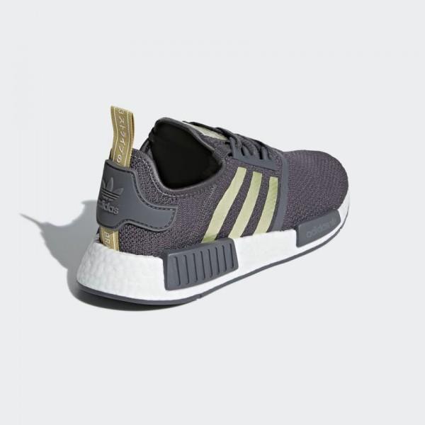 Adidas Women Originals NMD R1 Grey Gold Shoes B37651