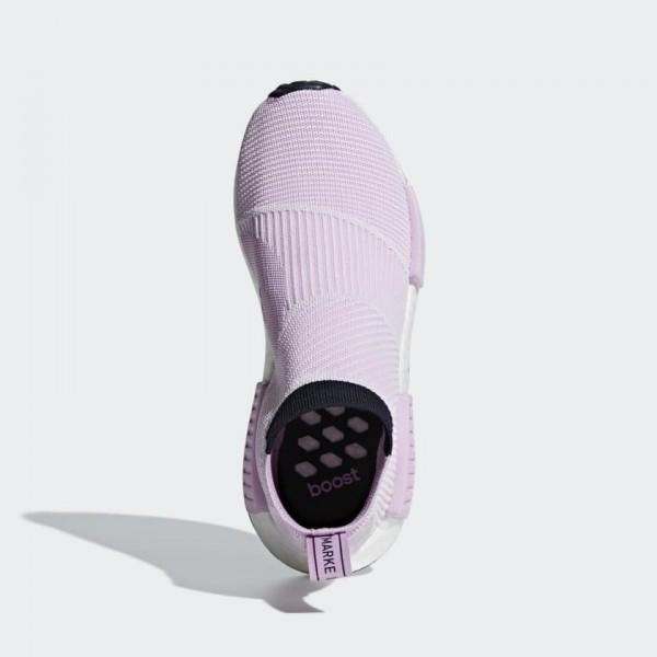Adidas Women Originals NMD CS1 Primeknit Purple Shoes B37658