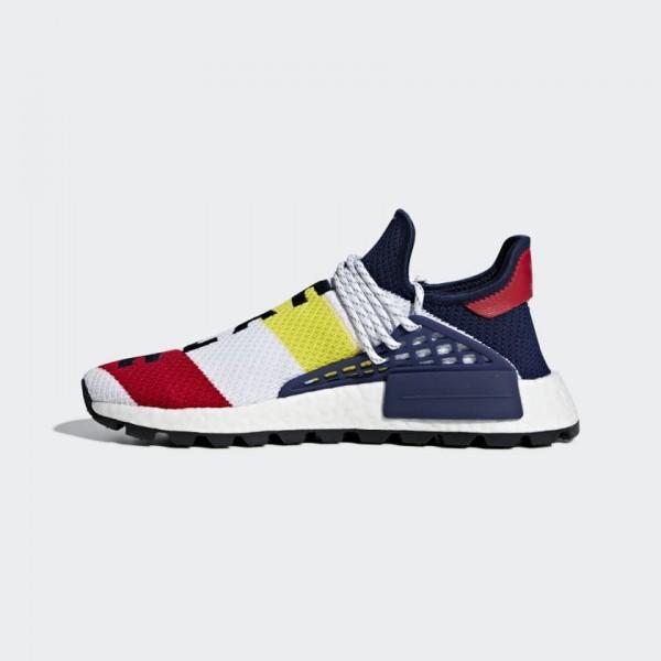 Pharrell Unisex Williams x Adidas NMD Hu White Red...