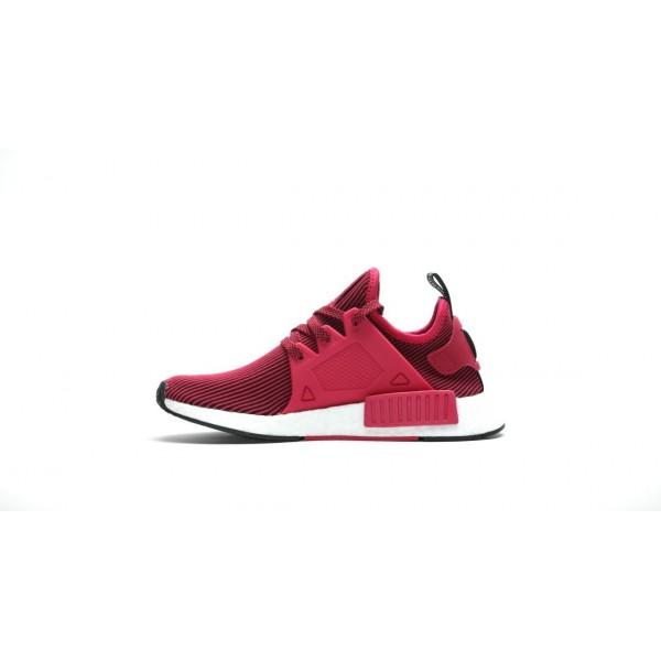 Adidas Women NMD XR1 Primeknit Glitch Unity Pink Shoes BB3687