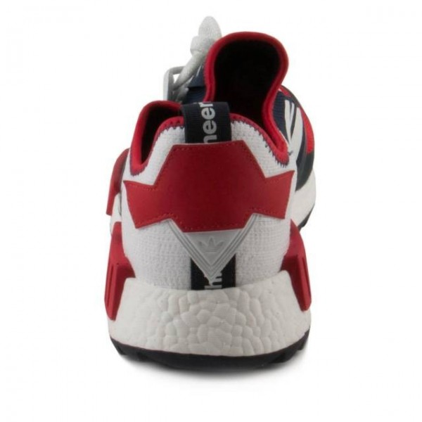 Adidas Women White Mountaineering NMD Trail Pk Red Blue White Shoes BA7519