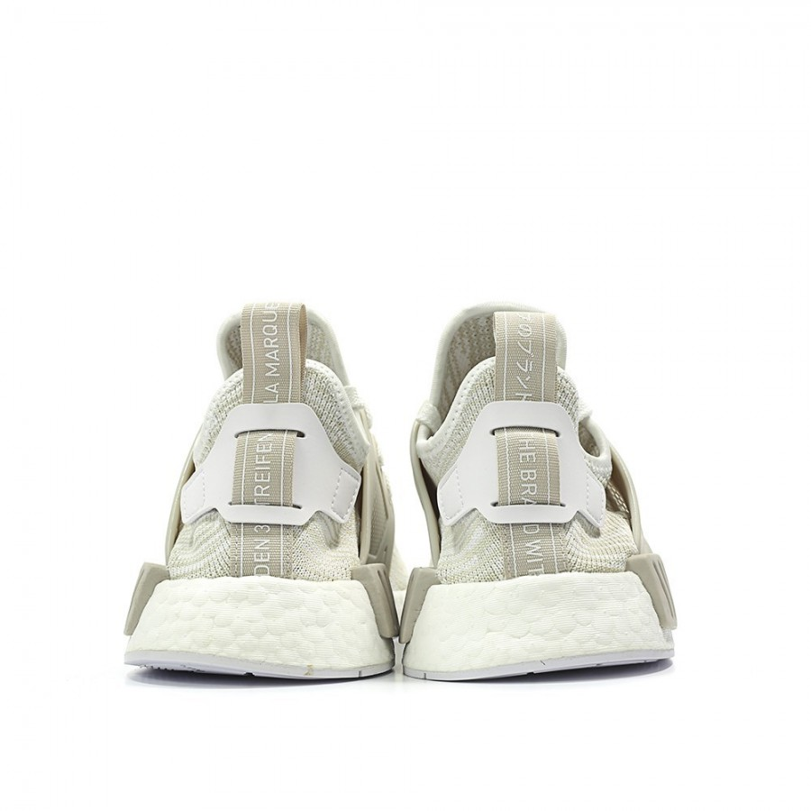 02c0137f7 Adidas Women Originals NMD XR1 Primeknit Runner Boost White Grey Shoes  BB2369