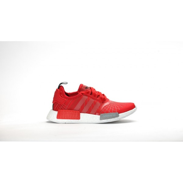 Adidas Women Originals NMD Runner Lush Red Black Shoes S79385