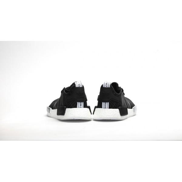 Adidas Women Originals NMD Runner Black White Shoes S79386