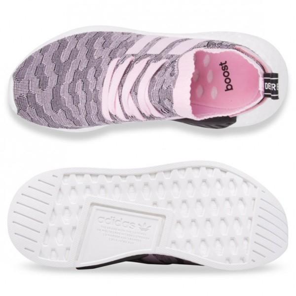 Adidas Women Originals NMD R2 Primeknit Wonder Pink Shoes BY9521