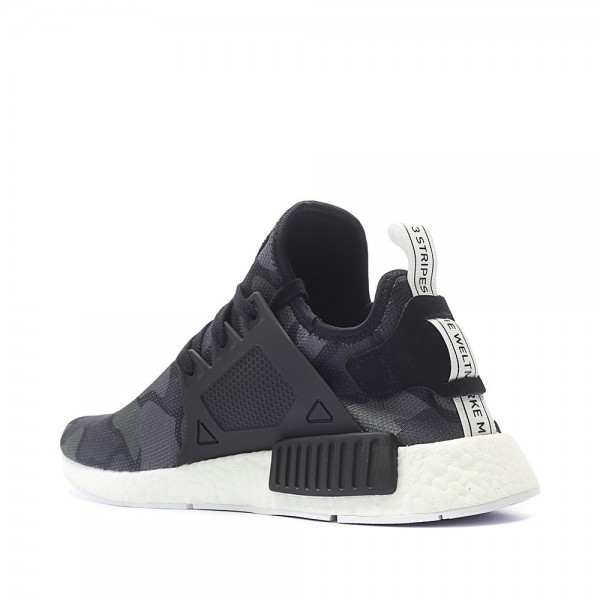 Adidas Women NMD XR1 Primeknit Duck Camo Black Shoes BA7231