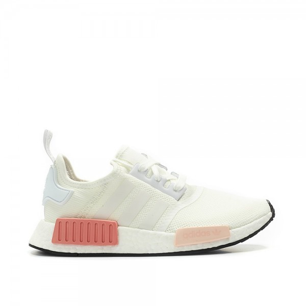 Adidas Women NMD R1 White Pink Shoes BY9952