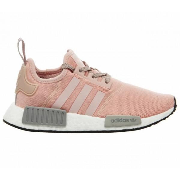 Adidas Women NMD R1 Vapor Pink Grey Onyx Boost Sho...