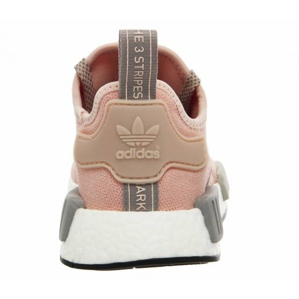 Adidas Women NMD R1 Vapor Pink Grey Onyx Boost Shoes BY3058