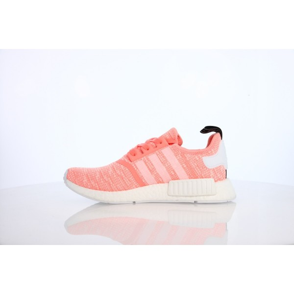 Adidas Women NMD R1 Sun Glow White Shoes BY3034