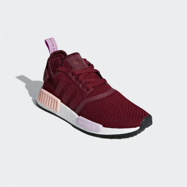 Adidas Women NMD R1 Shoes Collegiate Burgundy B37646
