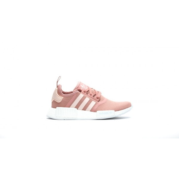 Adidas Women NMD R1 Raw Pink White Shoes S76006