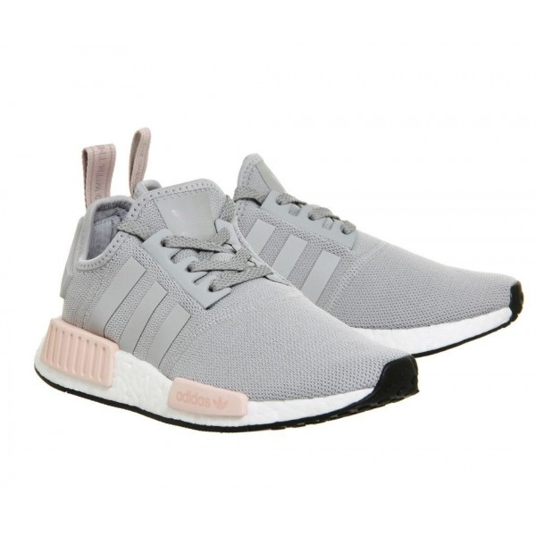 Adidas Women NMD R1 Clear Onix/Light Onix/Vapour P...