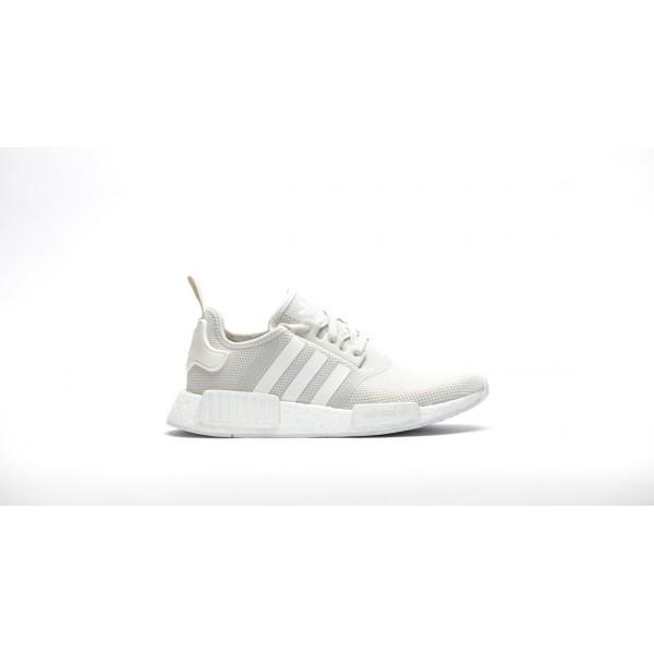 Adidas Women NMD R1 Boost Runner Primeknit White S...