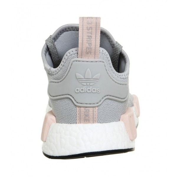 Adidas Women NMD R1 Clear Onix/Light Onix/Vapour Pink Shoes BY3058