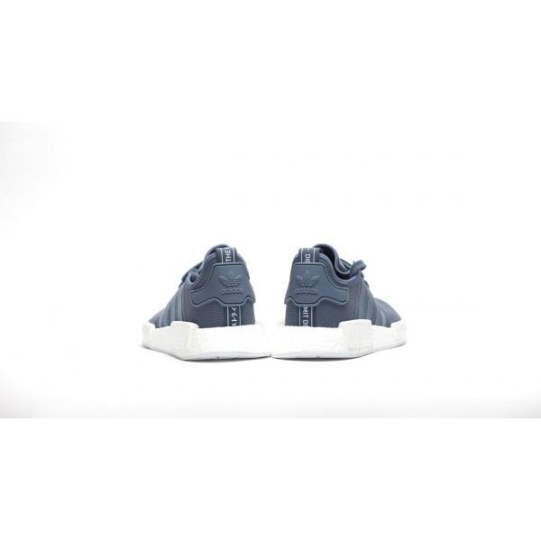 "Adidas Women NMD R1 Boost Runner Primeknit ""Tech Ink"" Shoes S76005"