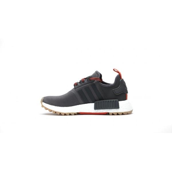 "Adidas Women NMD R1 Boost Runner ""Utility Black"" Shoes BB3691"