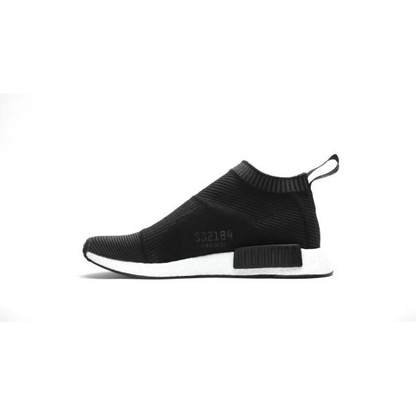 Adidas Women NMD CS1 City Sock Boost Primeknit Black Shoes S32184