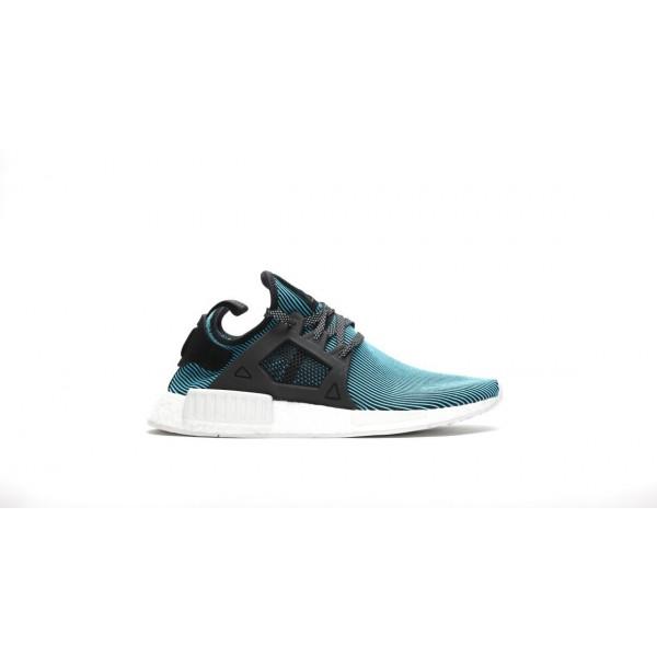 Adidas Unisex Originals NMD XR1 Primeknit Blue Sho...