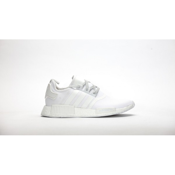Adidas Unisex Originals NMD R1 White Shoes S31506