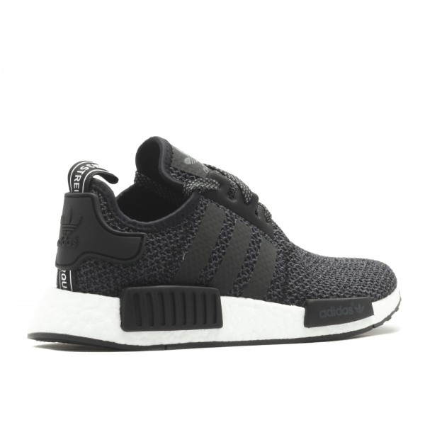 Adidas Unisex NMD R1 Runner Black White Shoes BA7842