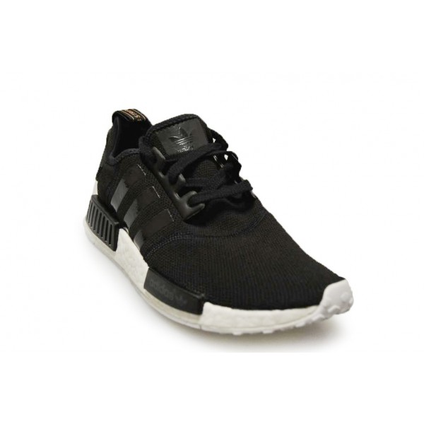 Adidas Unisex NMD R1 Nomad Runner Boost Black White Shoes S82269