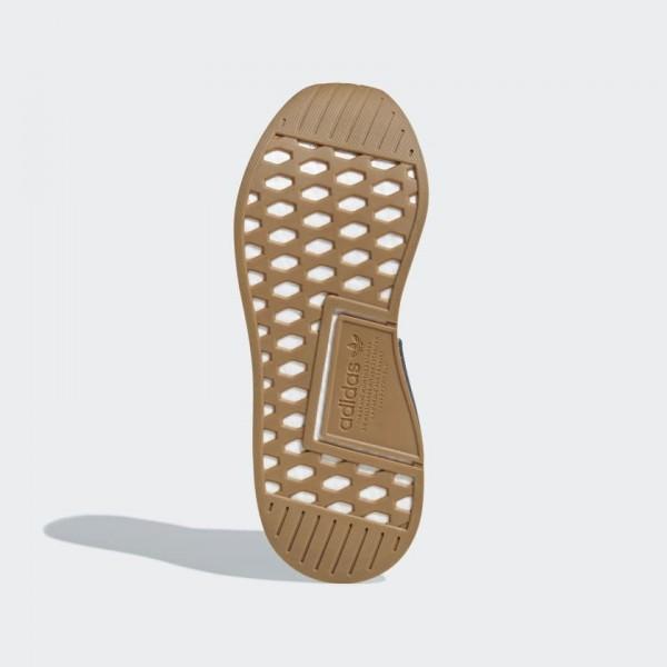 Adidas Unisex NMD CS2 Primeknit Grey Gum Running Shoes D96742