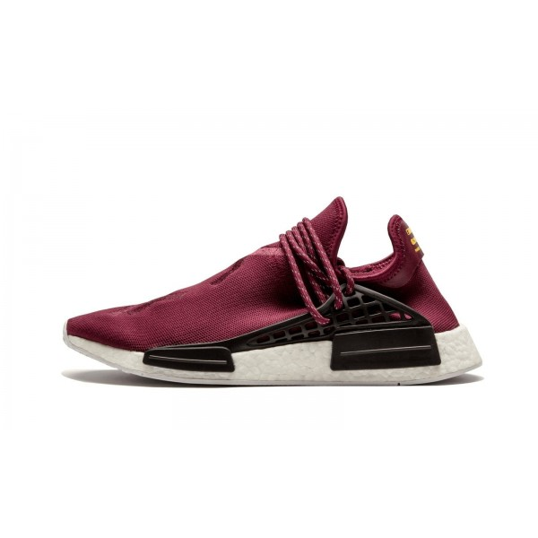 Adidas Men PW Origianlas Human Race NMD Truth Boost Maroon White Shoes BB0617