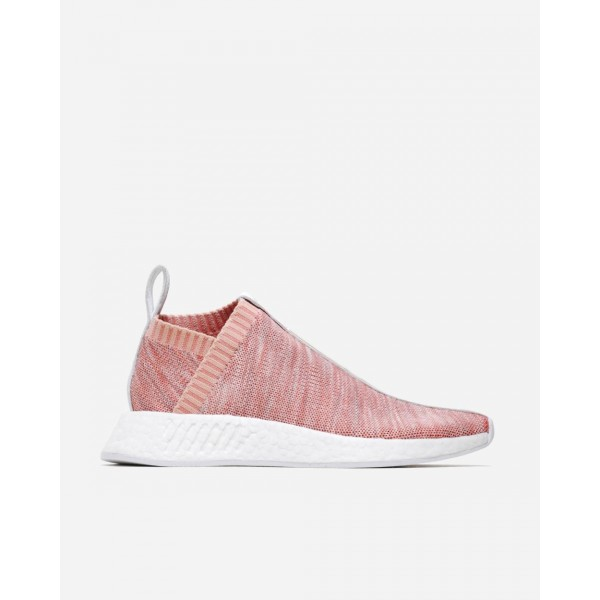 Adidas Men Ronnie Fieg Kith Naked NMD CS2 Boost Pink Shoes BY2596