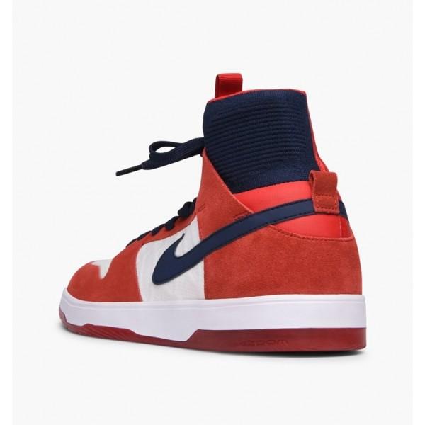 Nike Men Zoom Dunk High Elite Red Blue White Shoes 917567-641