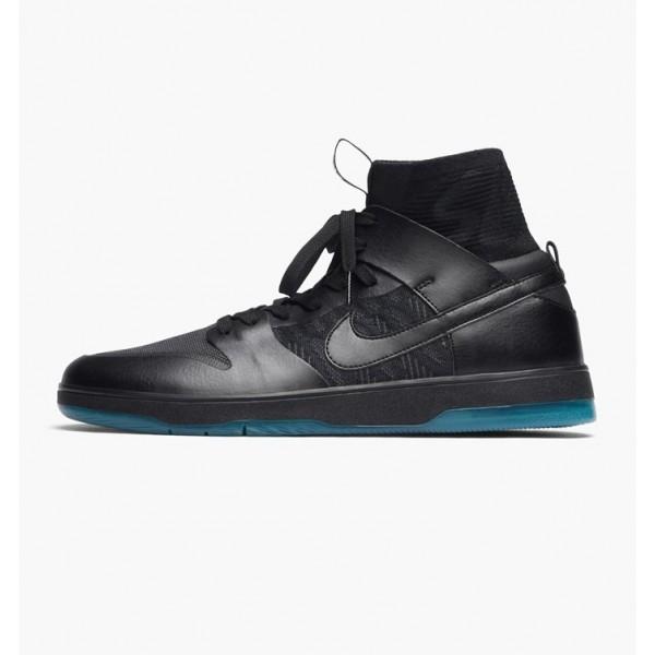 Nike Men Zoom Dunk High Elite Black Shoes 917567-0...