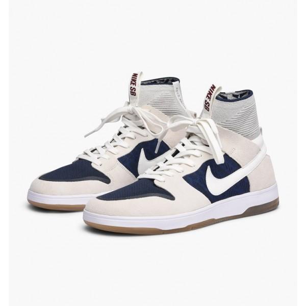 Nike Men Zoom Dunk High Elite Blue White Shoes 917567-114