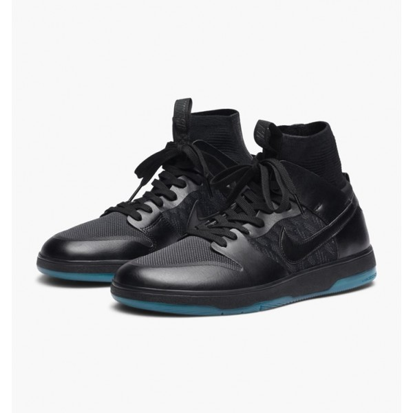 Nike Men Zoom Dunk High Elite Black Shoes 917567-003