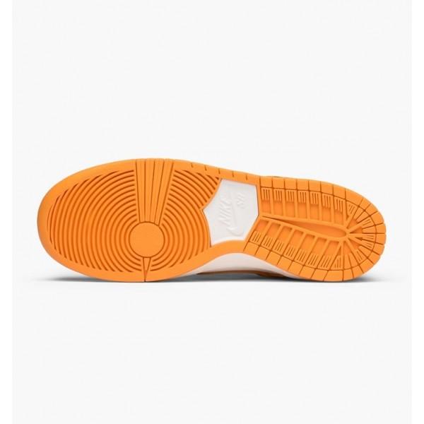 Nike Men SB Zoom Dunk Low Pro Orange White Shoes 854866-881