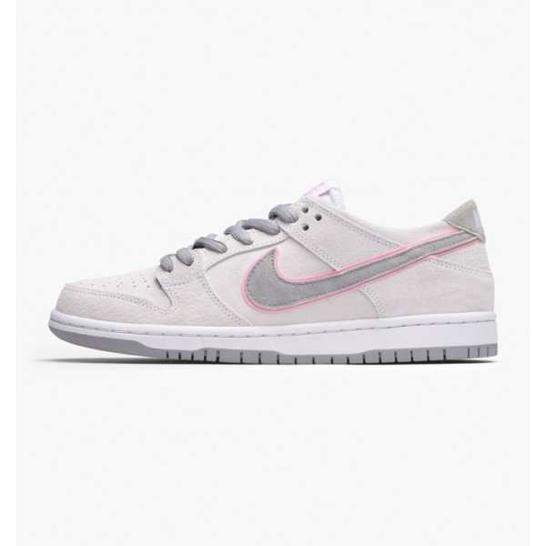 Nike Men SB Zoom Dunk Low Pro Ishod Wair White Pin...