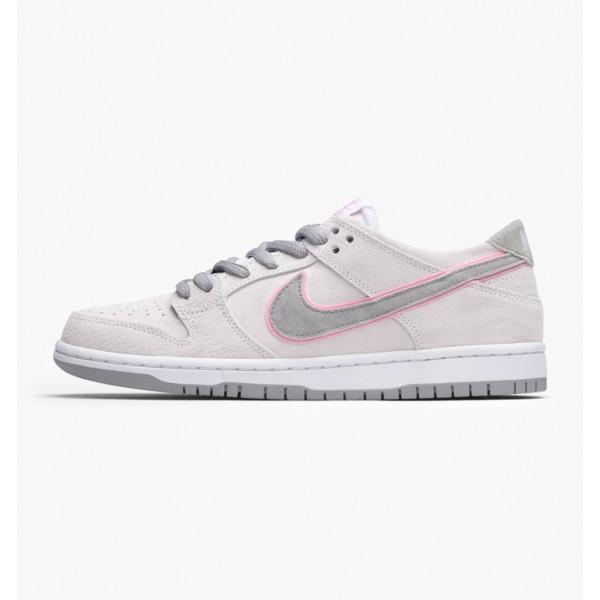 Nike Men SB Zoom Dunk Low Pro Ishod Wair White Pin...