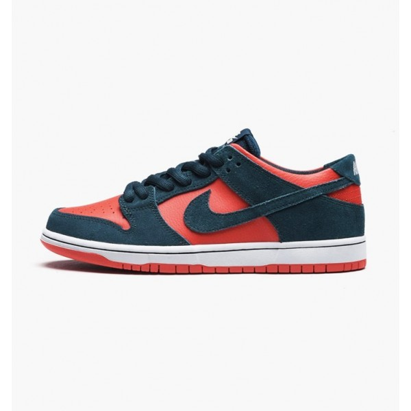 Nike Men SB Zoom Dunk Low Pro Green Red White Shoe...