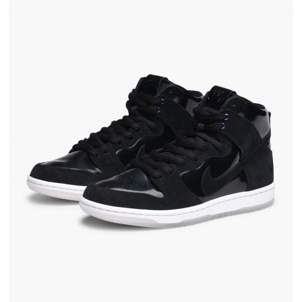 Nike Men Zoom Dunk High Pro Black White Shoes 854851-001