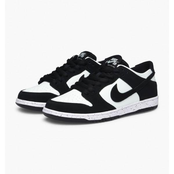 Nike Men SB Zoom Dunk Low Pro Black Green White Shoes 854866-003