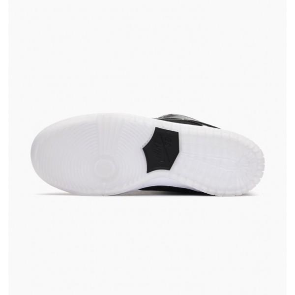 Nike Men SB Dunk Low TRD QS Black White Shoes 883232-001