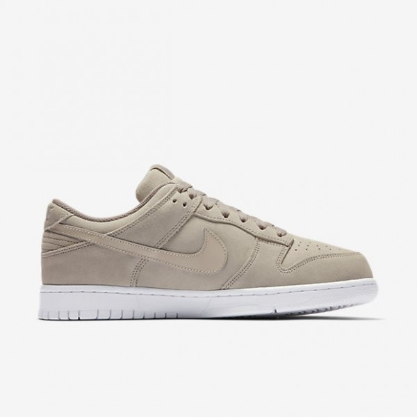 Nike Men Dunk Retro Low Grey White Shoes 896176-00...