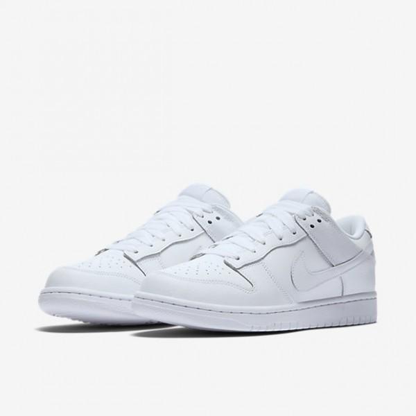 Nike Men Dunk Low White Shoes 904234-100