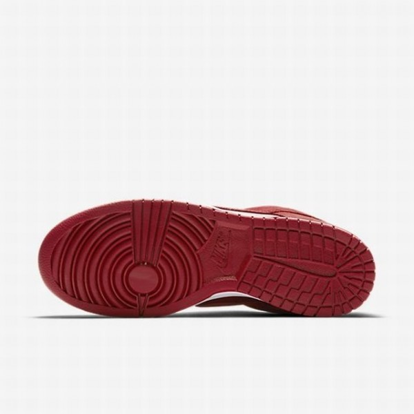 Nike Men Dunk Low Red White Shoes 904234-601