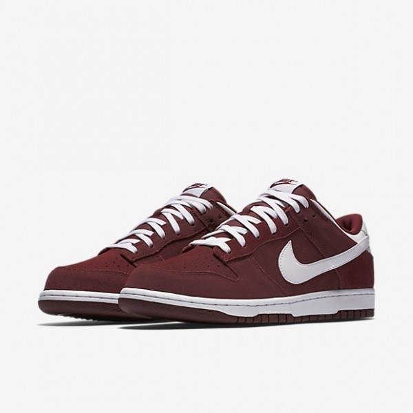 Nike Men Dunk Low Red White Shoes 904234-600