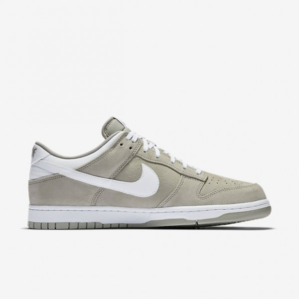 Nike Men Dunk Low Pale Grey/White Shoes 904234-002