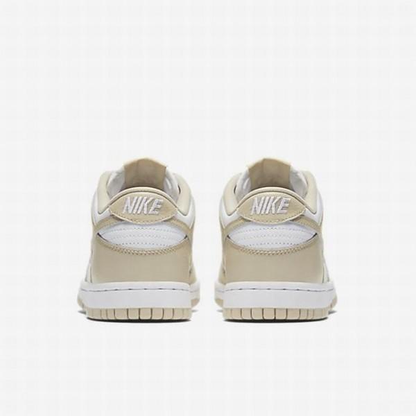 Nike Women Dunk Low Clearance Beige White Shoes 311369-102